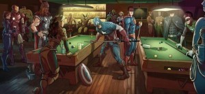 marvel v dc bar