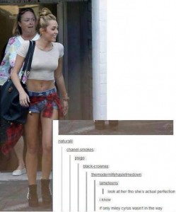 miley in the way