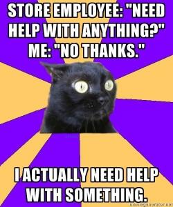 need no help