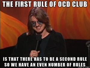 ocdclub rule