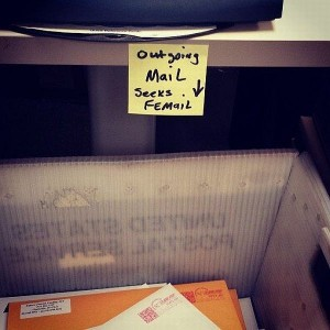 outgoing mail seeks