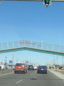 overpass prom invitation