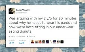pants argument