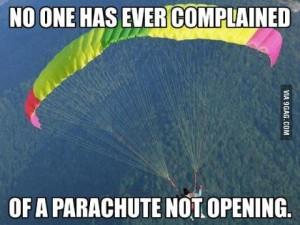 parachute complaints