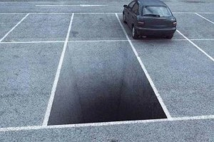 parkingspot hole