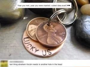 penny holes