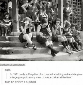 pizza protest