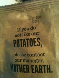 potato complaint