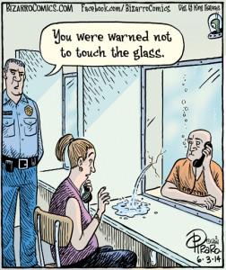 prison glass