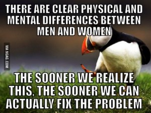 puffin gender differences