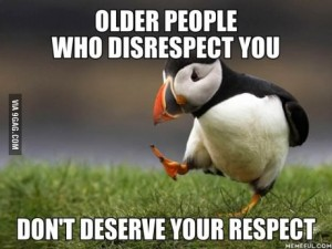 puffin older people respect