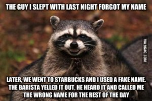 raccoon name forgot