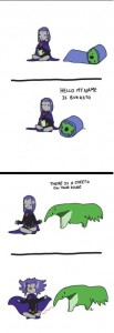 raven and beast boy 3