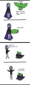 raven and beast boy 5