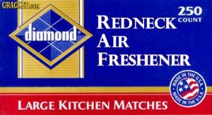 redneck air freshener