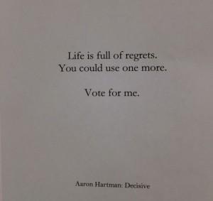 regret voting
