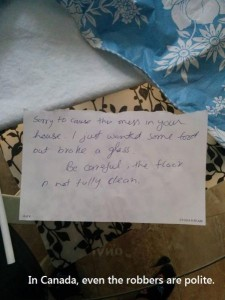 robber note
