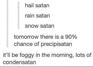 satan weather