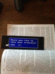 save your progress bookmark