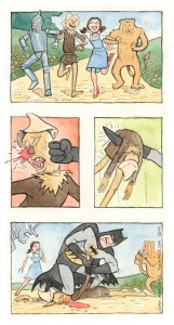 scarecrow and batman