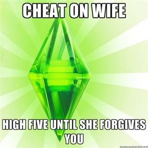 sims forgiveness