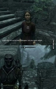 skyrim you seem alright