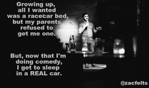sleep in a real car