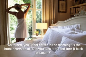 sleep is the reset button