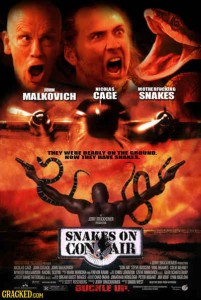 snakes on con air