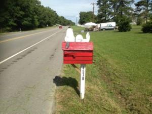 snoopy mailbox