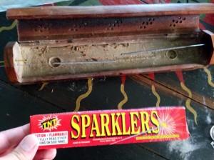 sparkler incense