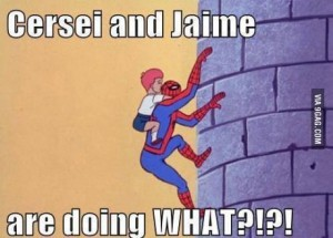 spiderman game of thrones