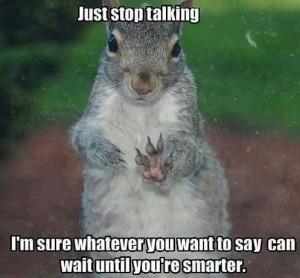 stoptalking wait