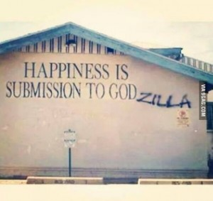submission to godzilla