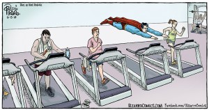 superman treadmill