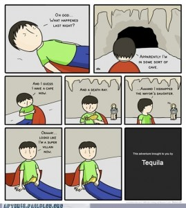 supervillain tequila