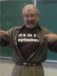 syllabus shirt
