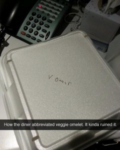 takeout abbreviation
