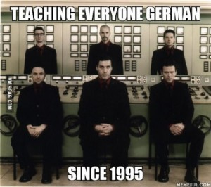 teachinggerman rammstein