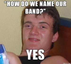 ten name our band