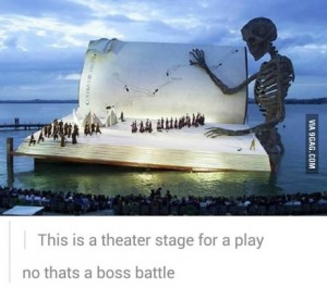 theater boss battle