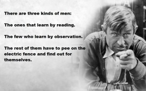three types of learning