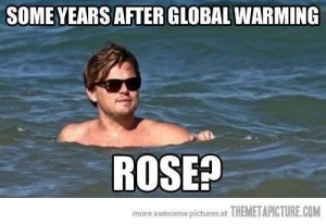 titanic after global warming