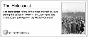 tldrw holocaust