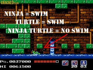 tmnt no swim