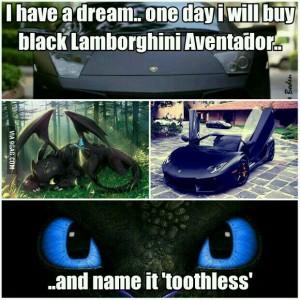 toothless lambo