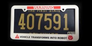 transformer plateholder