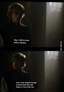 tyrion in love with a whore