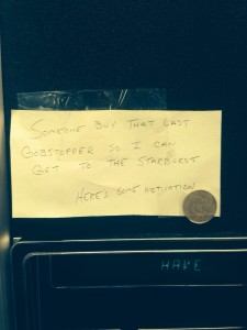 vending machine encouragement