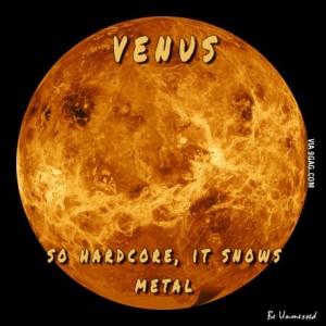 venus snows metal
